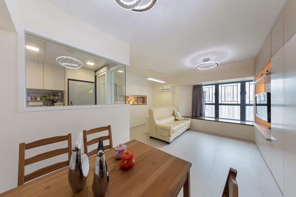 簡約, 私家樓, 飯廳, 海悅豪園, 室內設計師, 和生設計