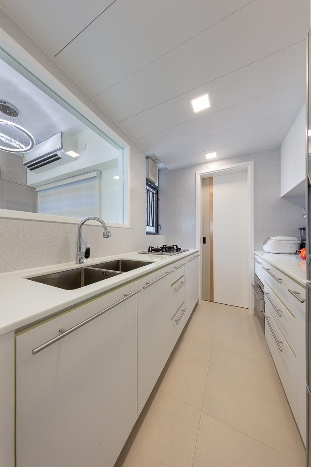 簡約, 私家樓, 廚房, 海悅豪園, 室內設計師, 和生設計