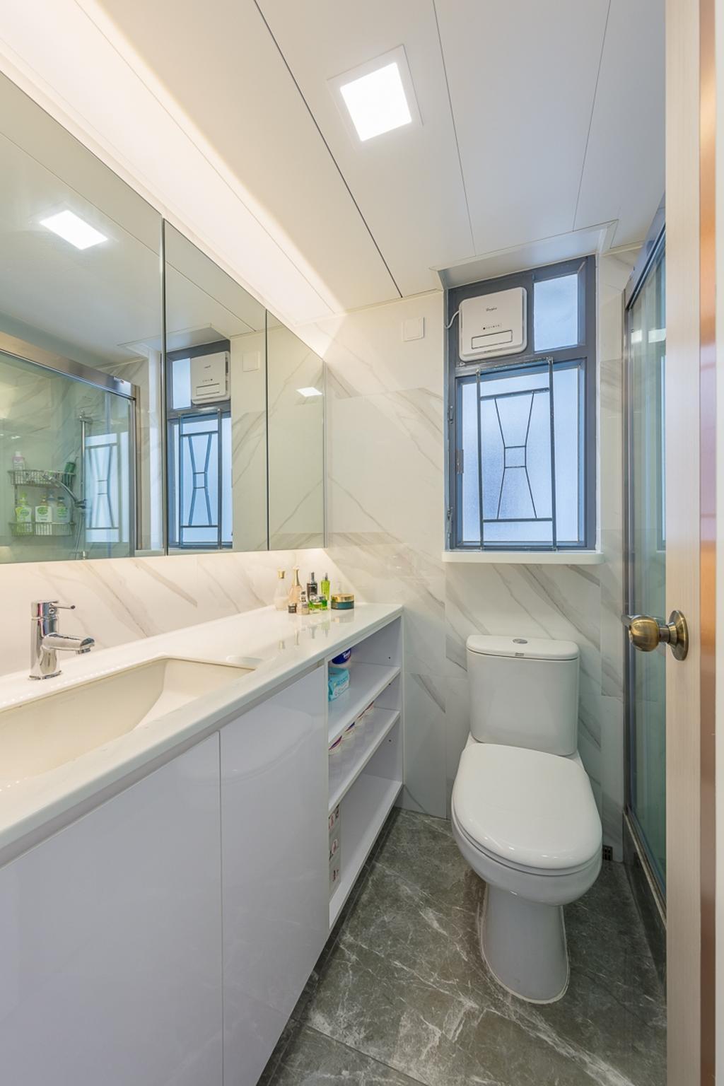 簡約, 私家樓, 浴室, 海悅豪園, 室內設計師, 和生設計