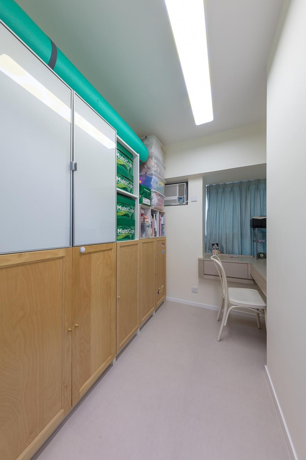 簡約, 私家樓, 書房, 海悅豪園, 室內設計師, 和生設計