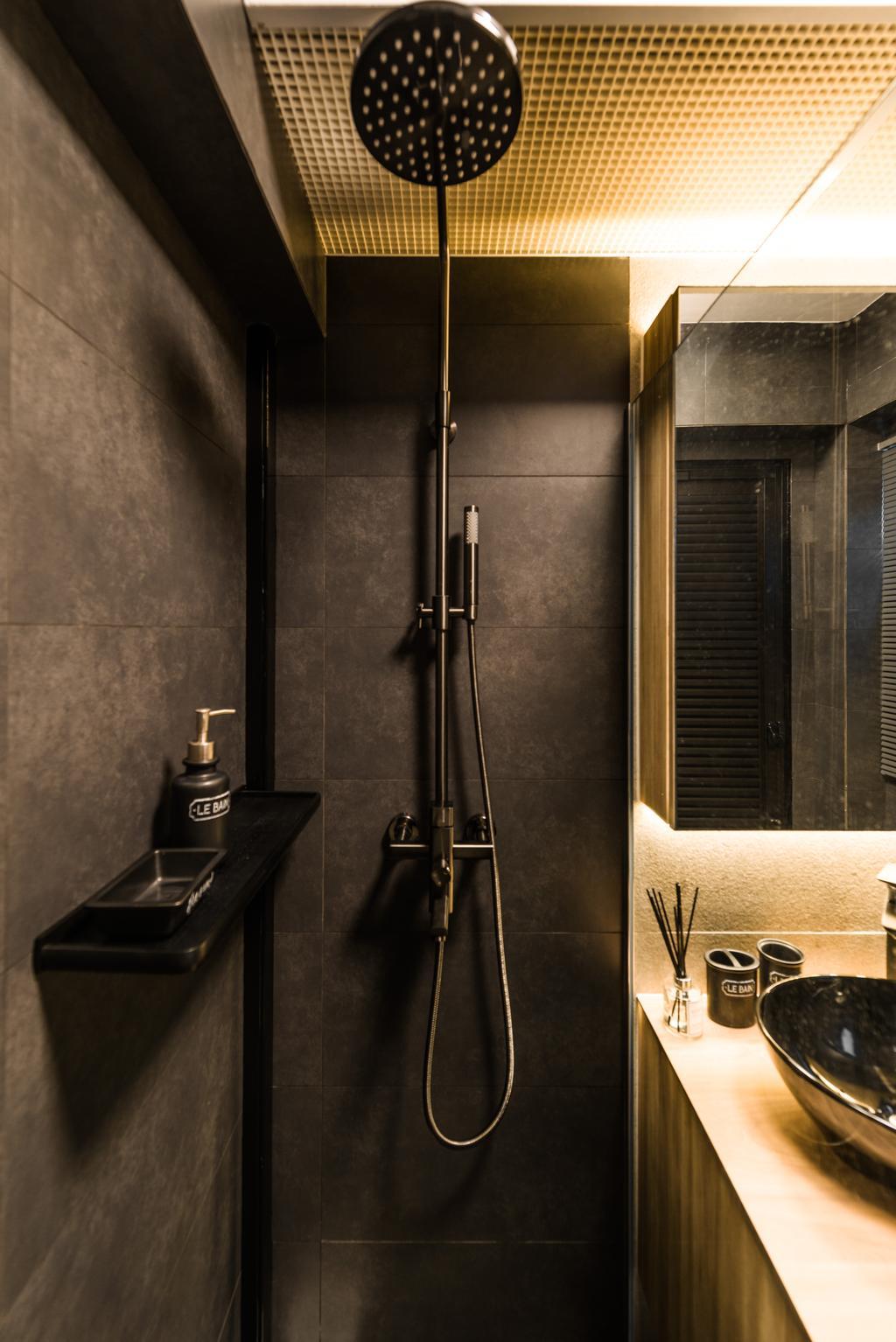 Modern, Condo, Bathroom, Clementi, Interior Designer, Mr Shopper Studio, Contemporary