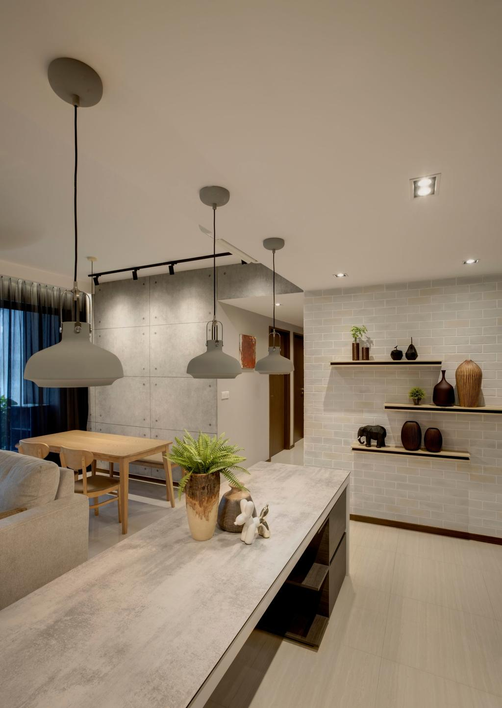 Contemporary, Condo, Dining Room, Bellewoods, Interior Designer, Juz Interior, Modern