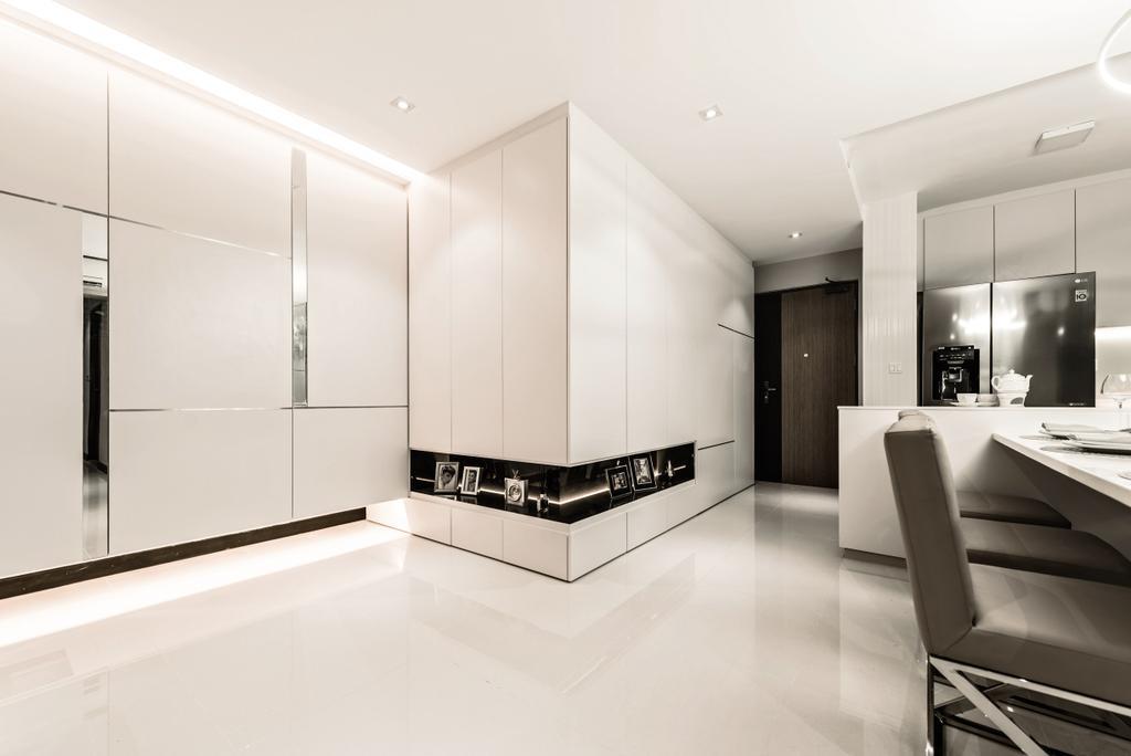 Modern, HDB, Living Room, Skyline II, Interior Designer, Mr Shopper Studio