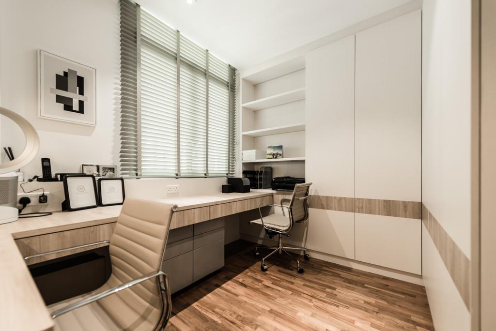 Modern, Condo, Study, Lakeshore, Interior Designer, Mr Shopper Studio