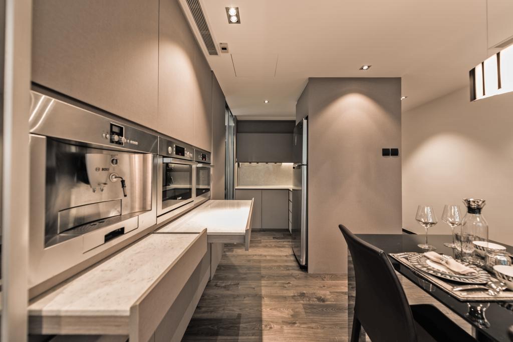 Modern, Condo, Kitchen, Lakeshore, Interior Designer, Mr Shopper Studio