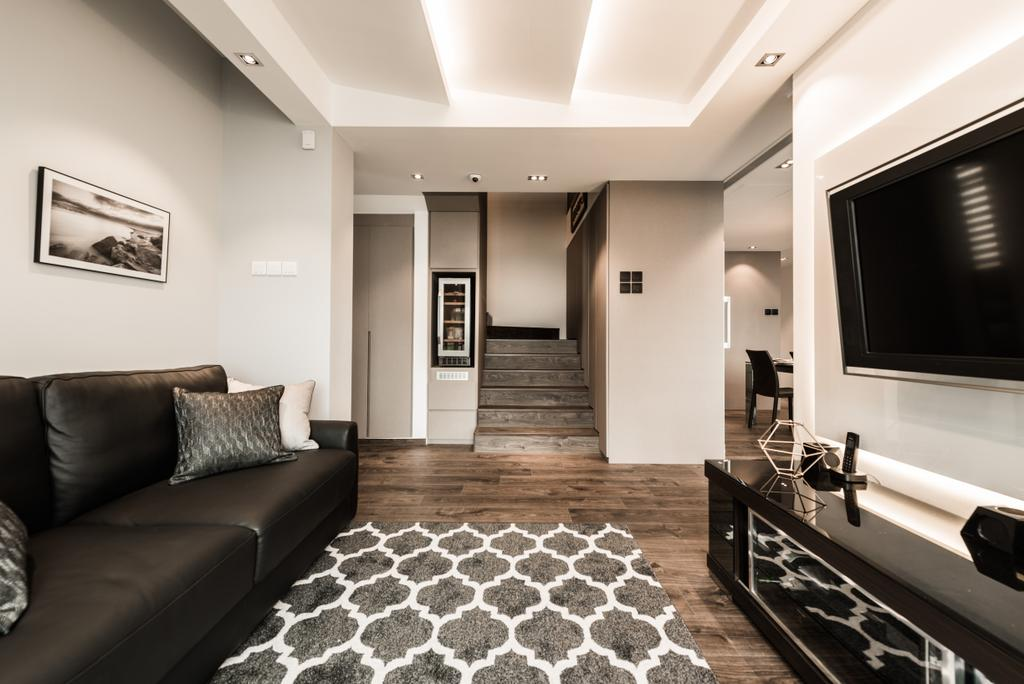 Modern, Condo, Living Room, Lakeshore, Interior Designer, Mr Shopper Studio