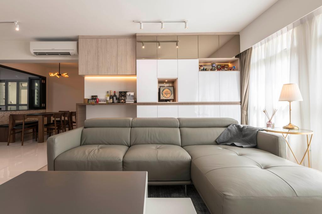 Modern, HDB, Living Room, Canberra Street, Interior Designer, Design Story