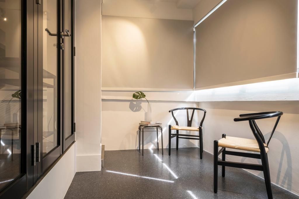 Contemporary, HDB, Balcony, Tampines Street 22, Interior Designer, M3 Studio