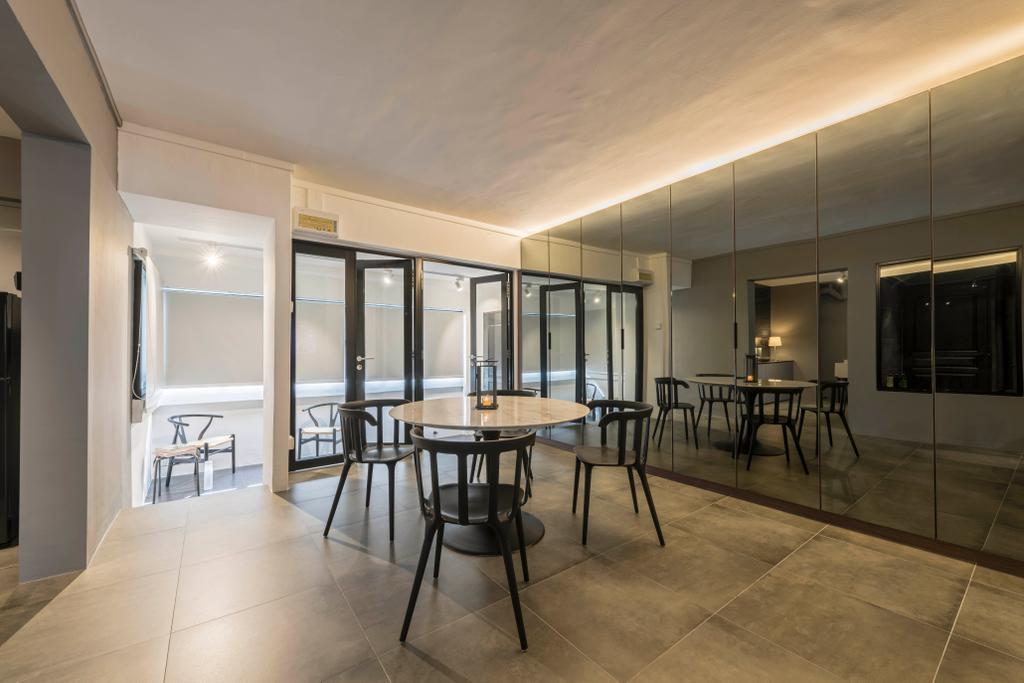 Contemporary, HDB, Living Room, Tampines Street 22, Interior Designer, M3 Studio