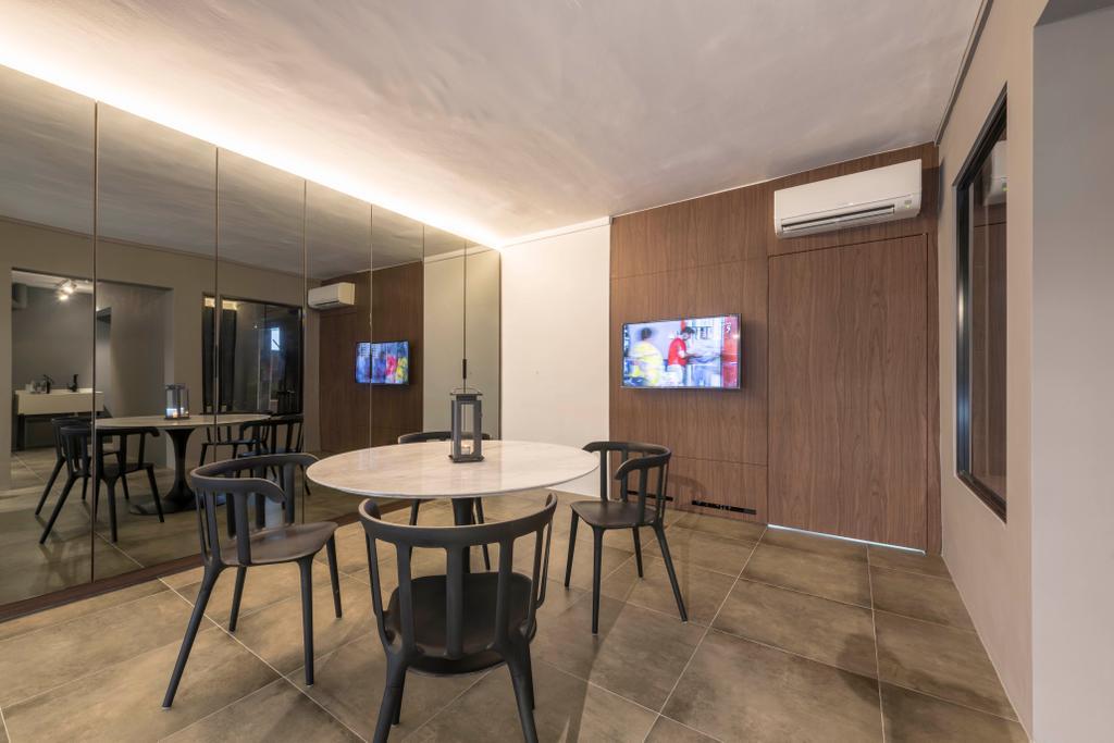 Contemporary, HDB, Dining Room, Tampines Street 22, Interior Designer, M3 Studio