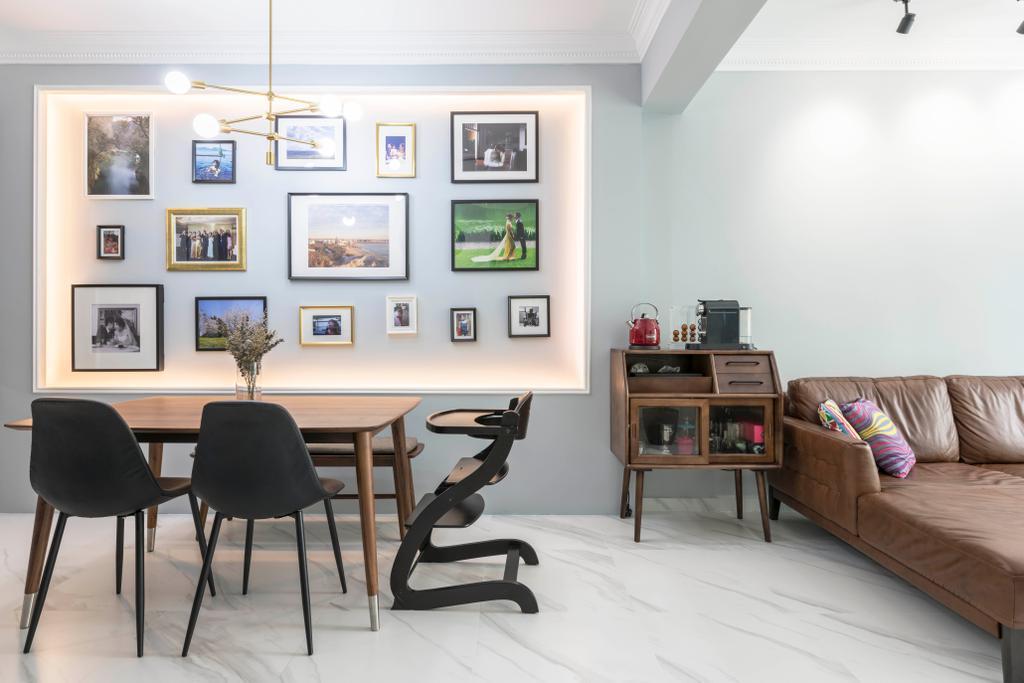 Vintage, Condo, Dining Room, Penhas Road, Interior Designer, Goodman Interior