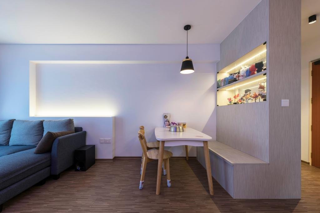 Modern, HDB, Dining Room, Bukit Batok Avenue 9, Interior Designer, DS 2000 Interior & Design