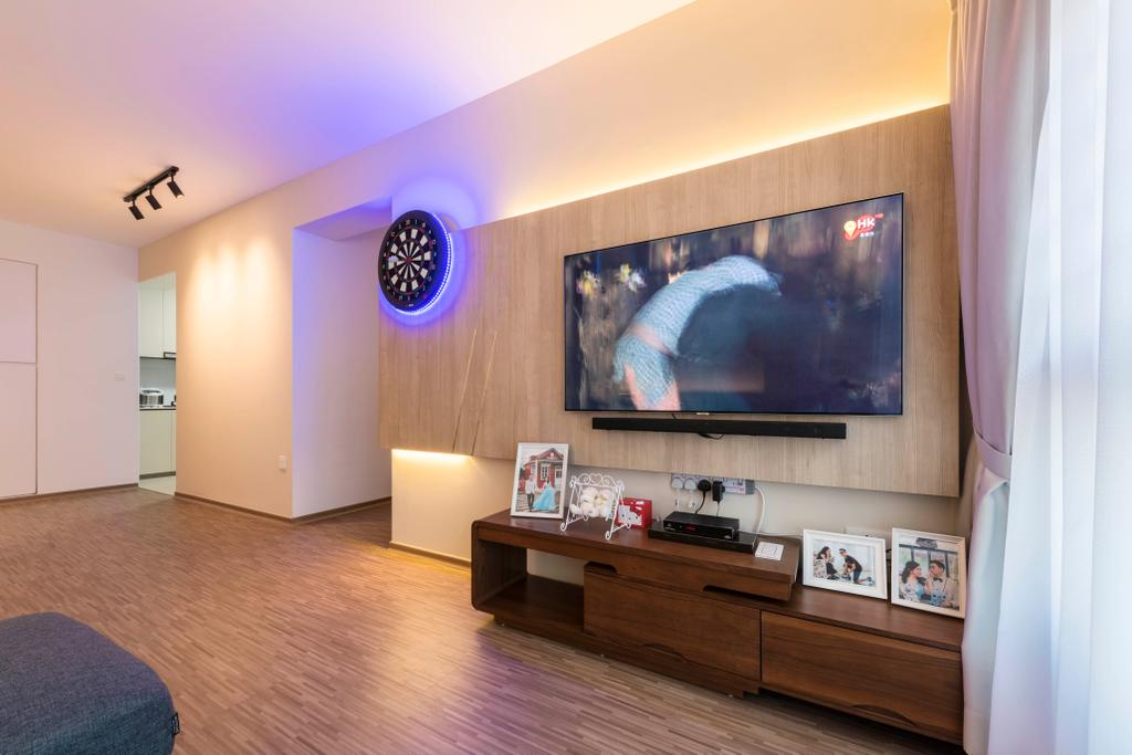 Modern, HDB, Living Room, Bukit Batok Avenue 9, Interior Designer, DS 2000 Interior & Design