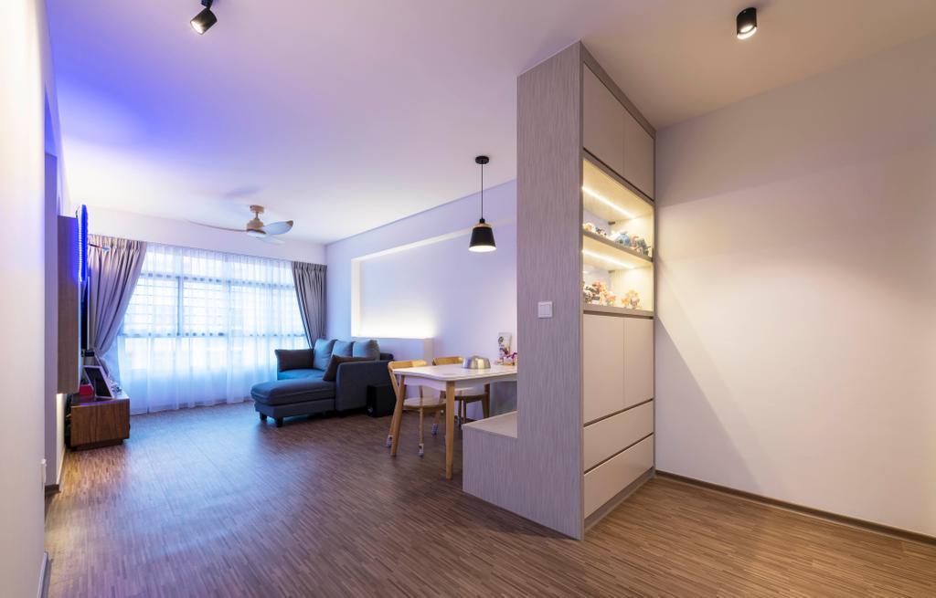 Modern, HDB, Living Room, Bukit Batok Avenue 9, Interior Designer, DS 2000 Interior & Design