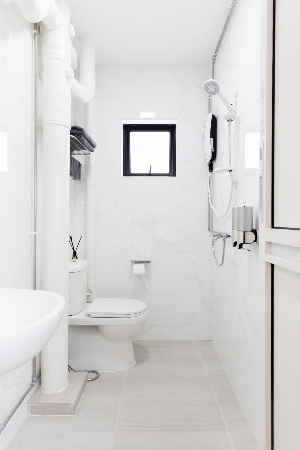 Modern, HDB, Bathroom, Woodlands Street 31, Interior Designer, VNA Design