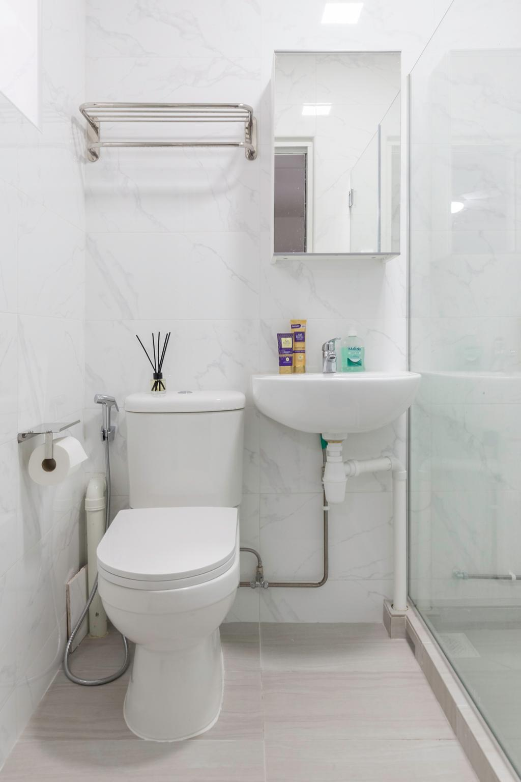 Modern, HDB, Bathroom, Woodlands Street 31, Interior Designer, VNA Design