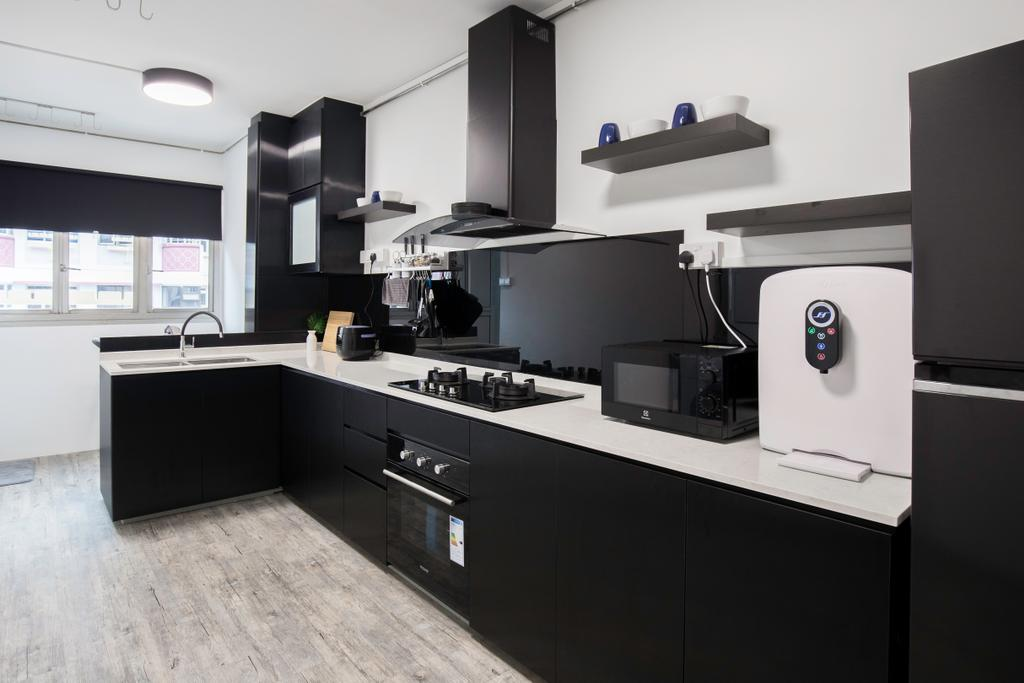 Modern, HDB, Kitchen, Woodlands Street 31, Interior Designer, VNA Design