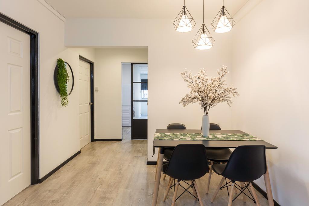 Modern, HDB, Dining Room, Woodlands Street 31, Interior Designer, VNA Design