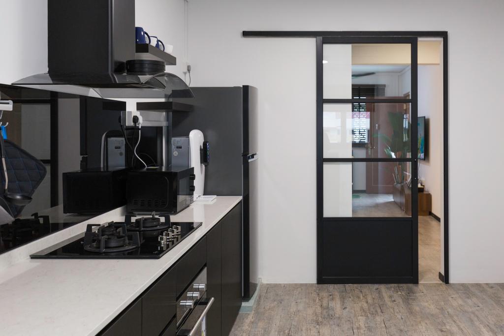 Modern, HDB, Kitchen, Woodlands Street 31, Interior Designer, VNA Design