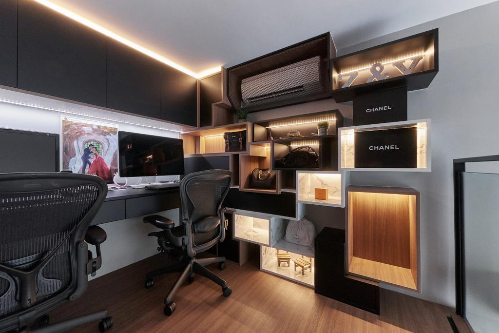 Contemporary, Condo, The Glades, Interior Designer, Space Atelier