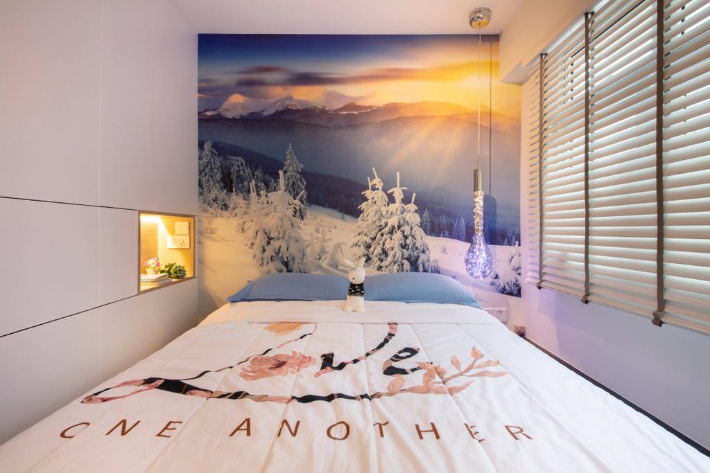 Contemporary, HDB, Bedroom, Bukit Batok Avenue 6, Interior Designer, Starry Homestead