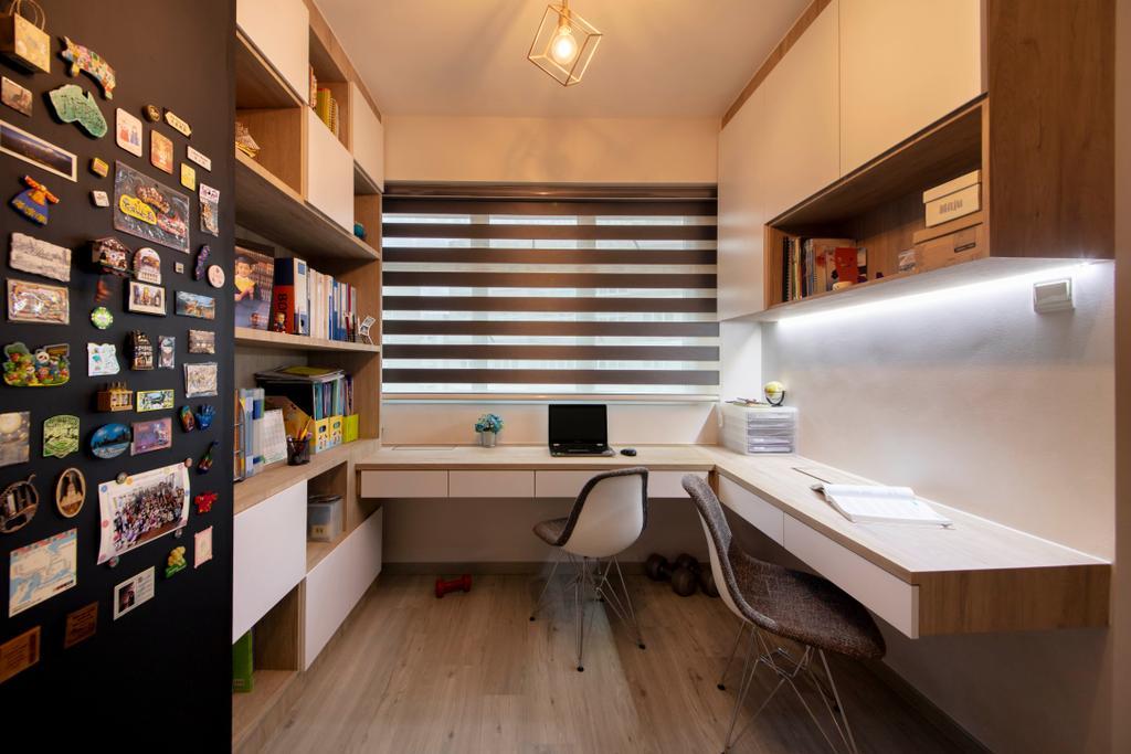 Contemporary, HDB, Study, Bukit Batok Avenue 6, Interior Designer, Starry Homestead