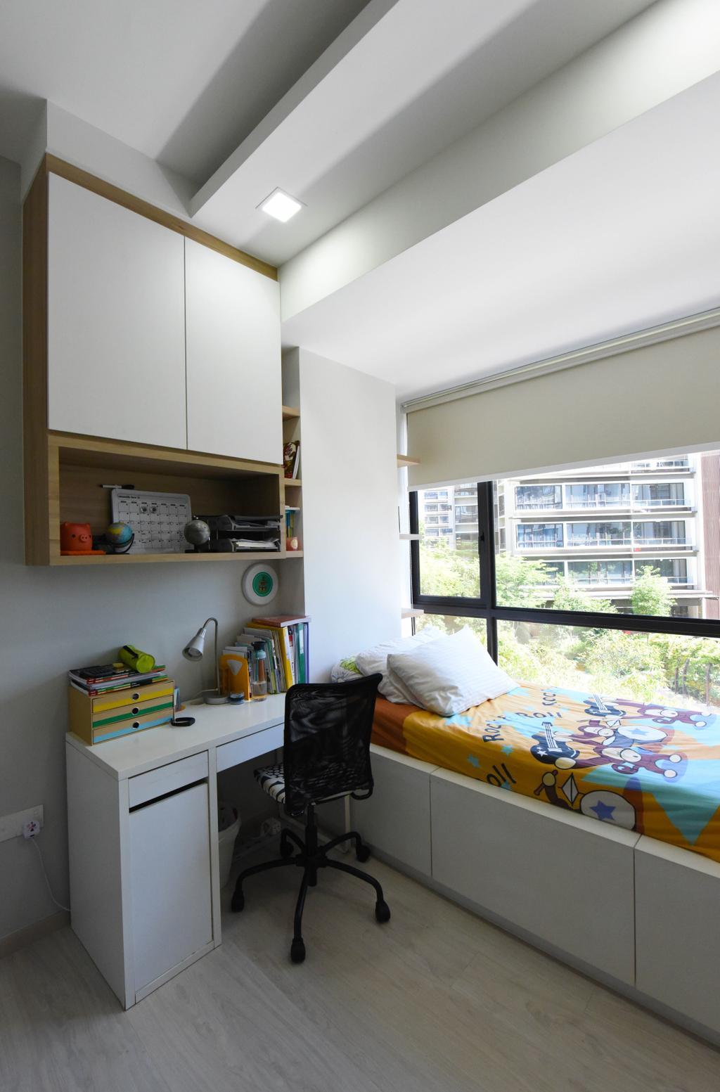 Contemporary, HDB, Bedroom, Pasir Ris, Interior Designer, Starry Homestead