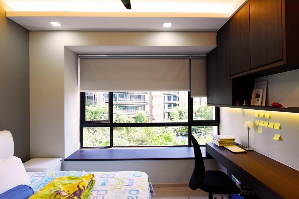Contemporary, HDB, Study, Pasir Ris, Interior Designer, Starry Homestead