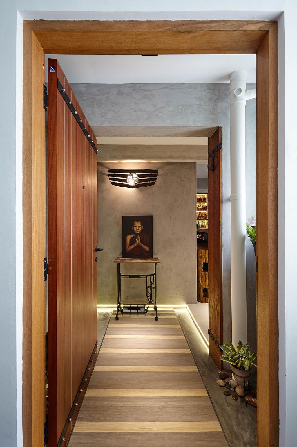 Eclectic, HDB, Upper Changi, Interior Designer, D5 Studio Image, Contemporary