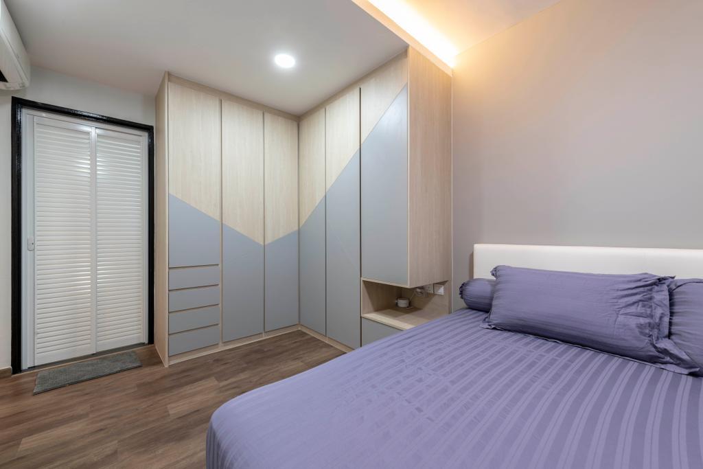 Contemporary, HDB, Buangkok Crescent, Interior Designer, Glamour Concept