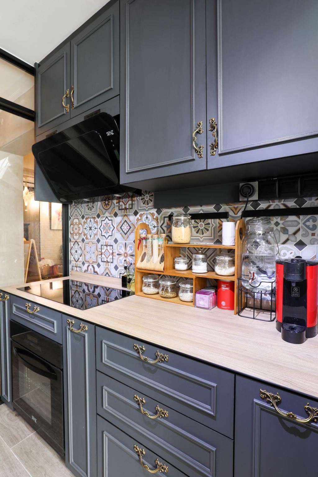 HDB, Kitchen, Boon Lay, Interior Designer, Apartment