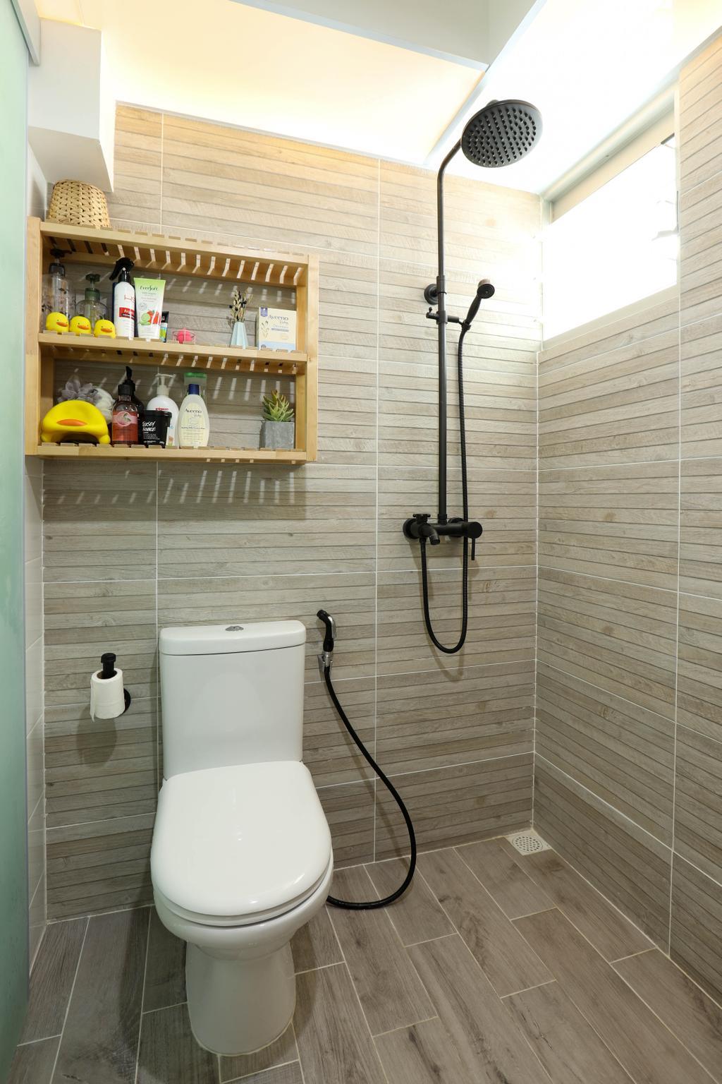 HDB, Bathroom, Boon Lay, Interior Designer, Apartment