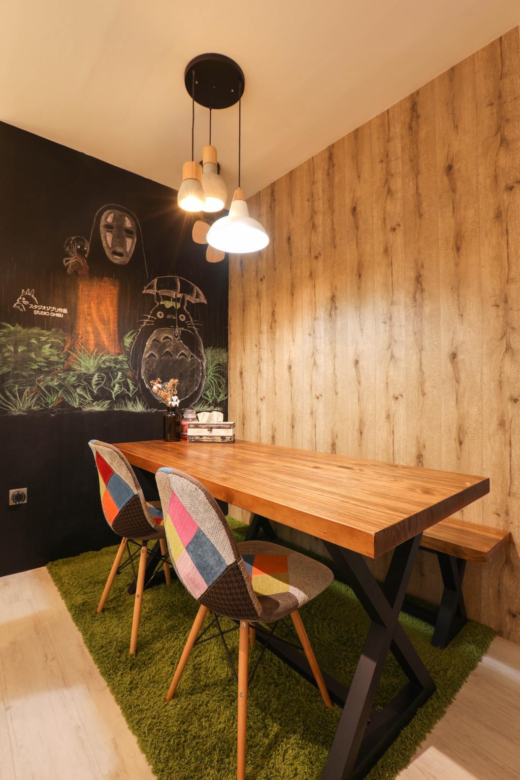 HDB, Dining Room, Boon Lay, Interior Designer, Apartment