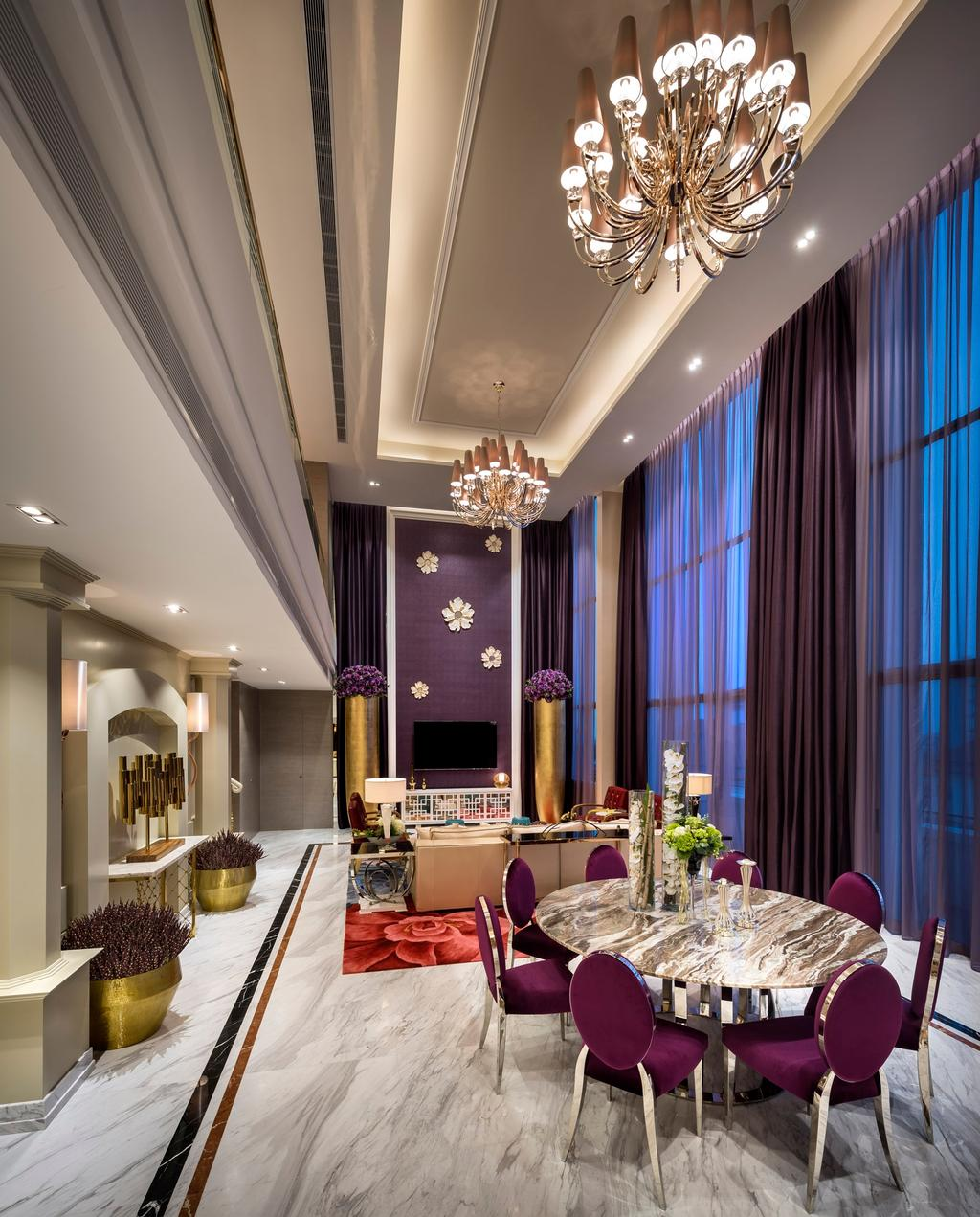 Contemporary, Condo, Living Room, Costa Rhu, Interior Designer, Image Creative Design