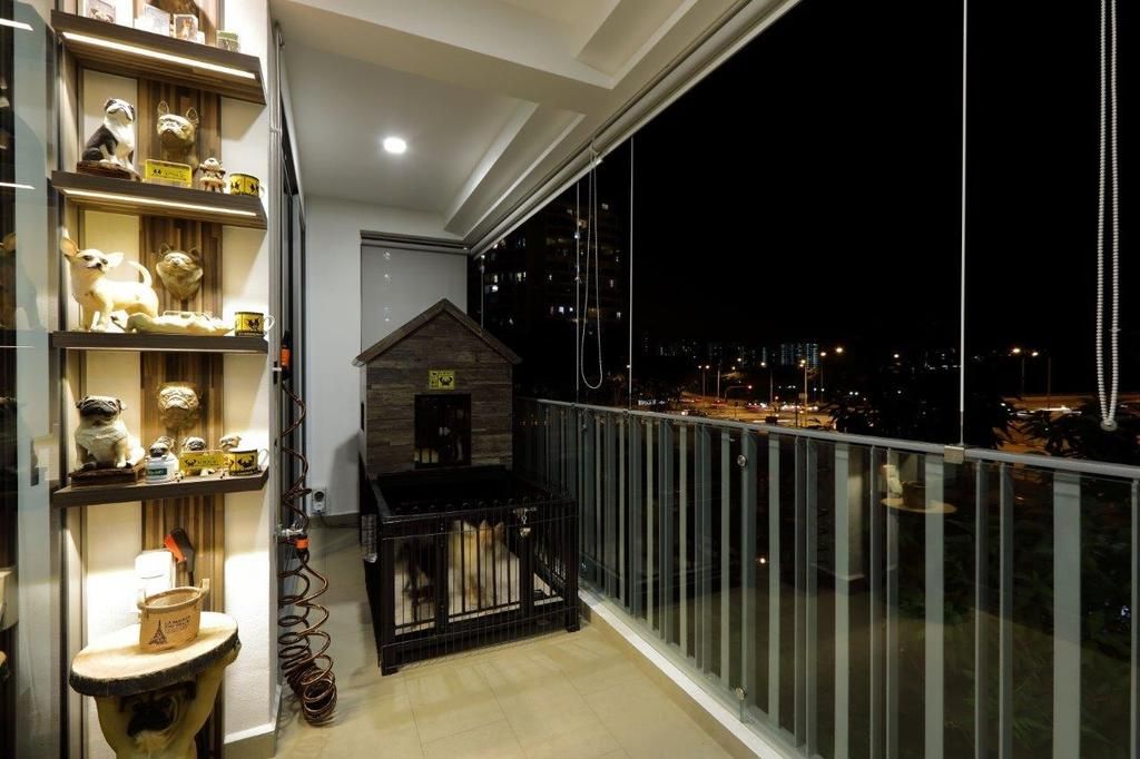 Contemporary, Condo, Balcony, Riversail, Interior Designer, Image Creative Design