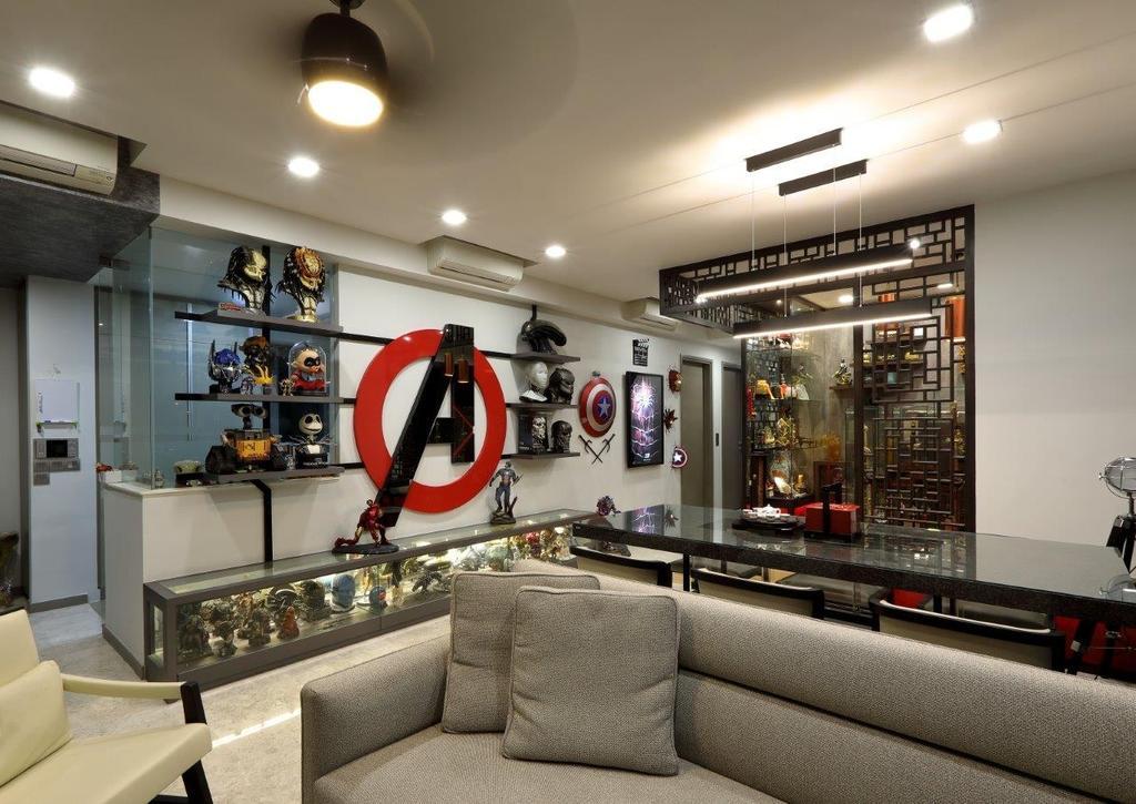 Contemporary, Condo, Living Room, Riversail, Interior Designer, Image Creative Design