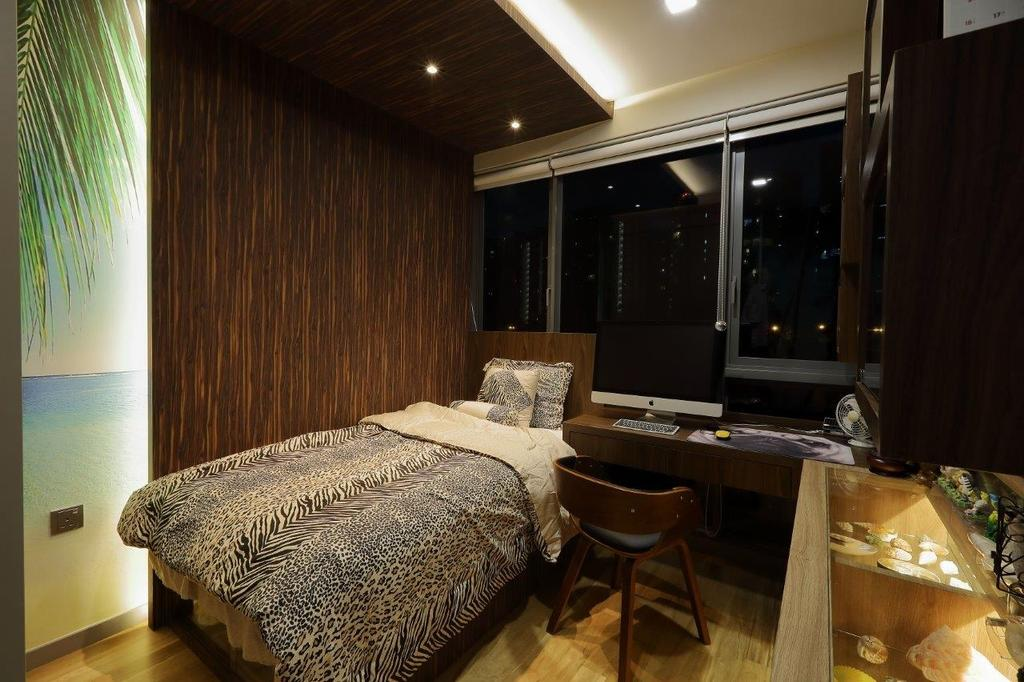 Contemporary, Condo, Bedroom, Riversail, Interior Designer, Image Creative Design