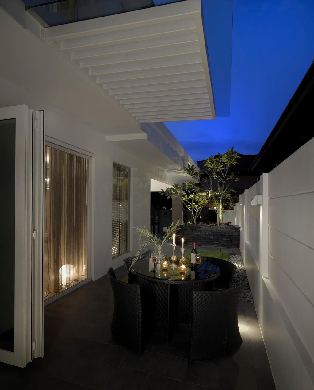 Modern, Landed, Balcony, Jalan Kemuning, Interior Designer, Image Creative Design, Minimalistic