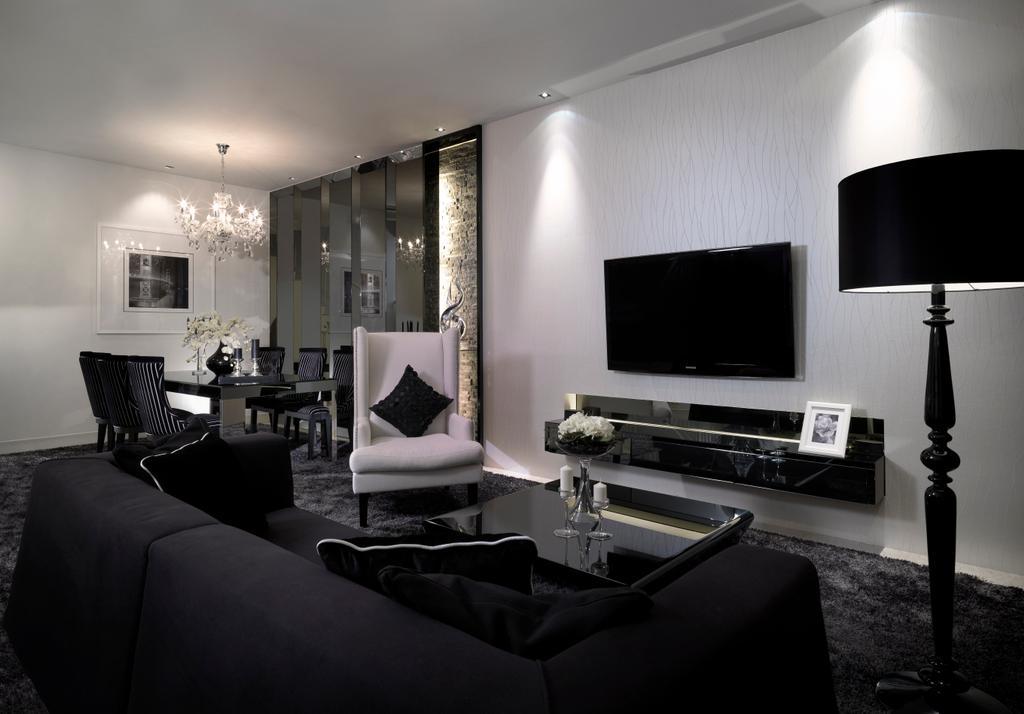 Modern, Landed, Living Room, Spring Side, Interior Designer, Image Creative Design