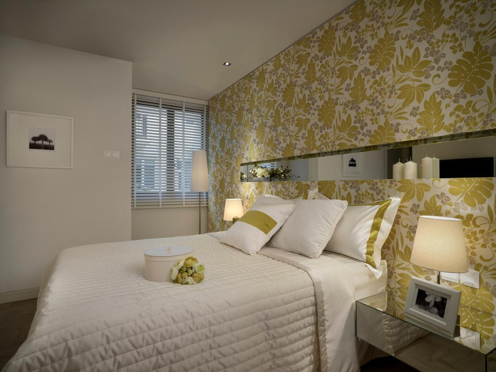 Modern, Landed, Bedroom, Spring Side, Interior Designer, Image Creative Design
