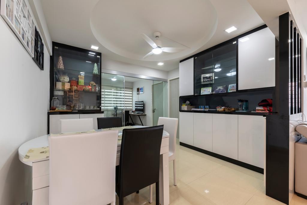 Contemporary, Condo, Dining Room, Bukit Merah, Interior Designer, Visionary Interior