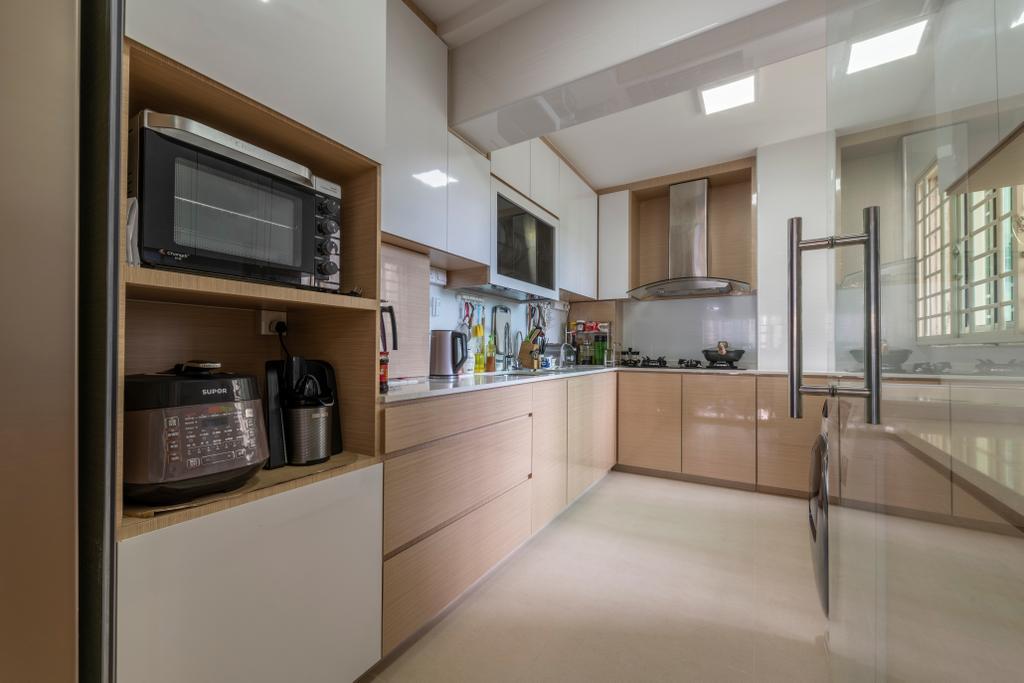 Contemporary, Condo, Kitchen, Bukit Merah, Interior Designer, Visionary Interior