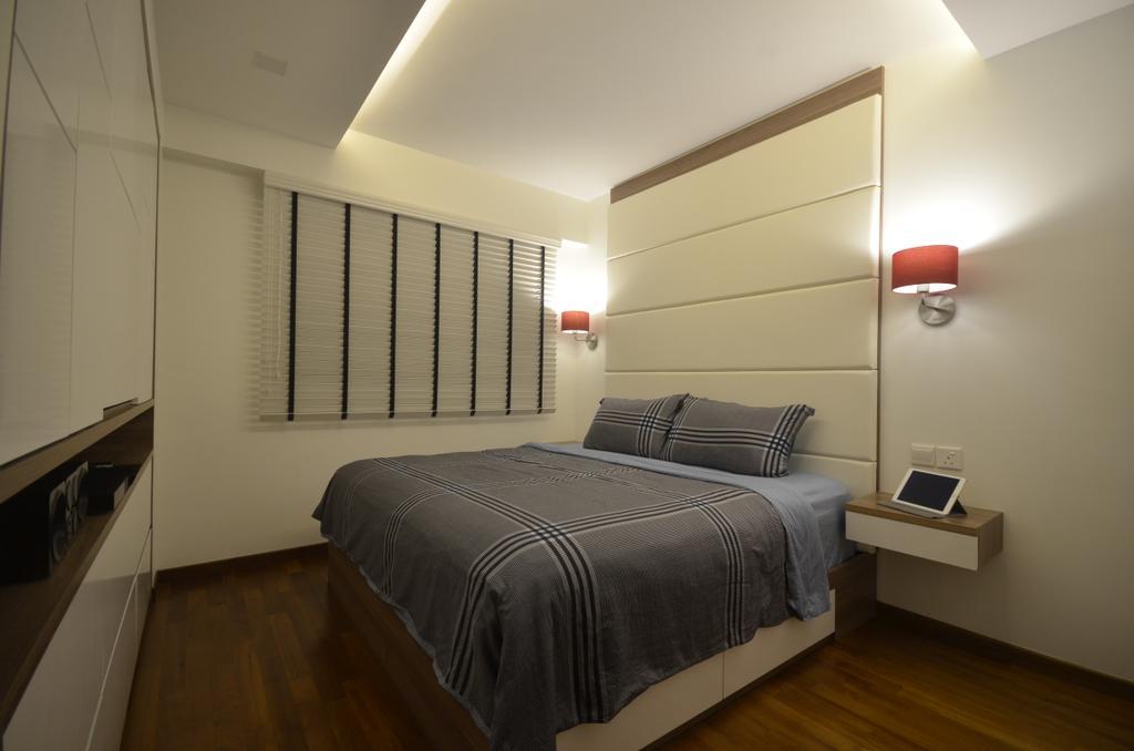 Contemporary, HDB, Bedroom, Edgefield Plains, Interior Designer, Boxplan Design