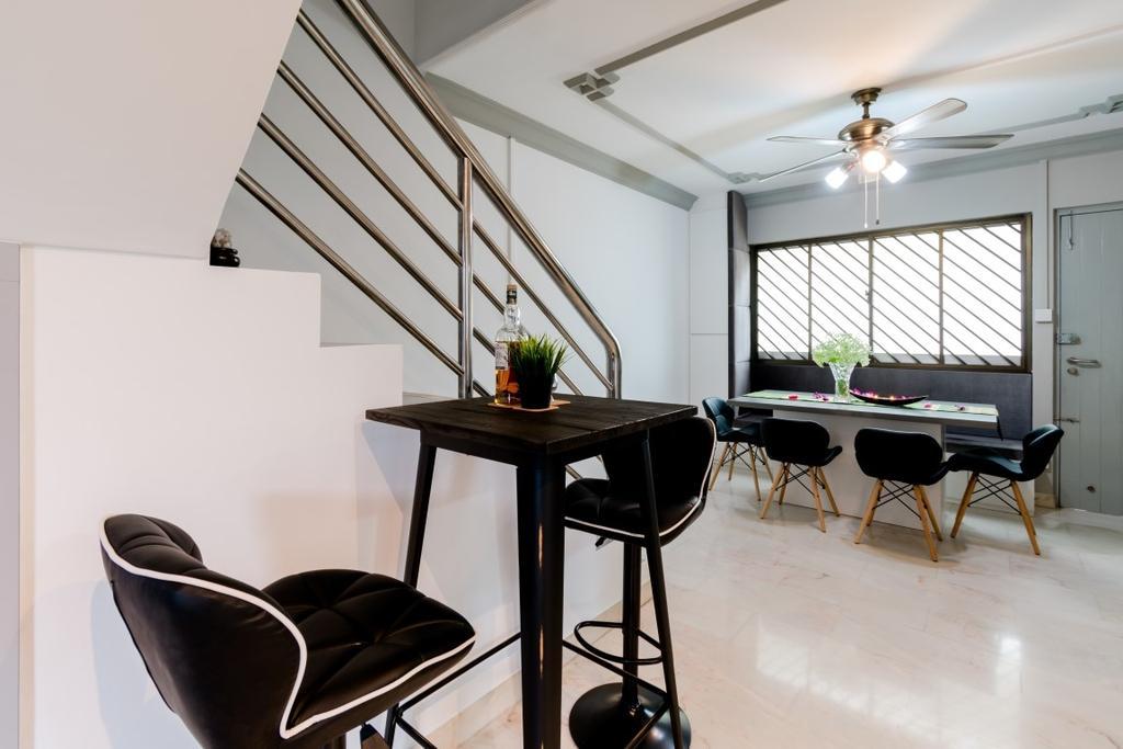 Modern, HDB, Dining Room, Tampines Avenue 5, Interior Designer, Yang's Inspiration Design