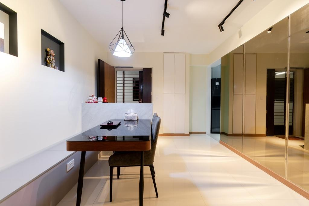 Modern, HDB, Dining Room, Bukit Batok West Avenue 5, Interior Designer, Yang's Inspiration Design