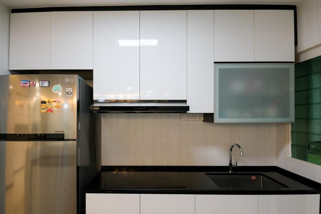 Modern, HDB, Kitchen, Bukit Batok West Avenue 6, Interior Designer, Yang's Inspiration Design