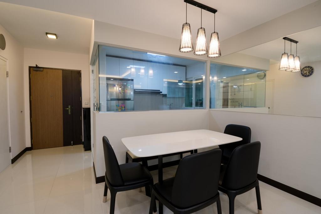 Modern, HDB, Dining Room, Bukit Batok West Avenue 6, Interior Designer, Yang's Inspiration Design