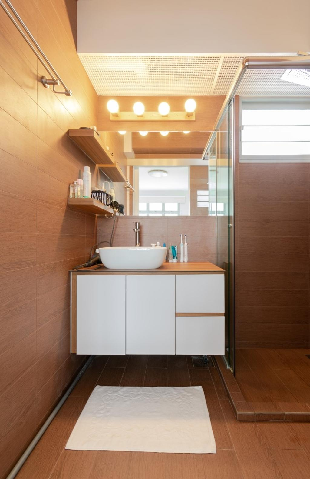 Modern, HDB, Bathroom, Henderson Road, Interior Designer, Yang's Inspiration Design
