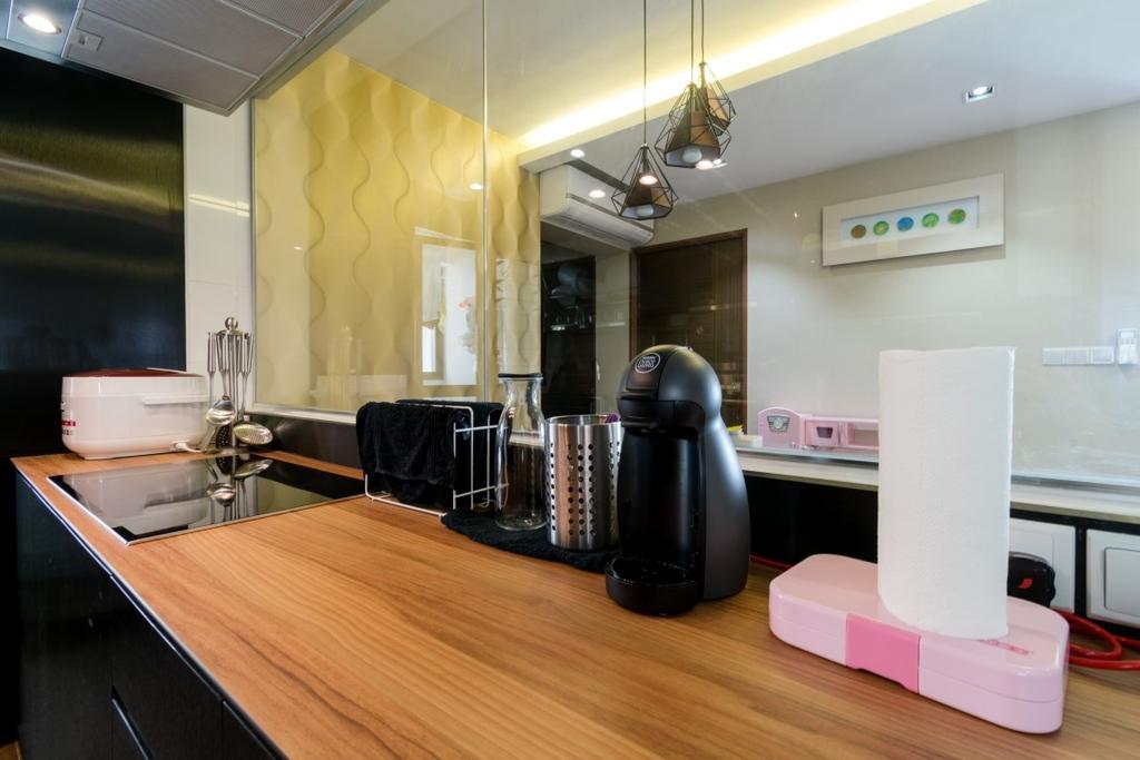 Modern, HDB, Kitchen, Ghim Moh Link, Interior Designer, Yang's Inspiration Design
