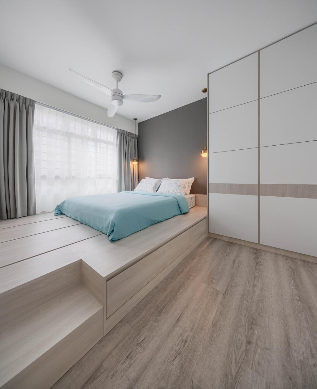 Scandinavian, HDB, Bedroom, Tivela, Interior Designer, Stylemyspace